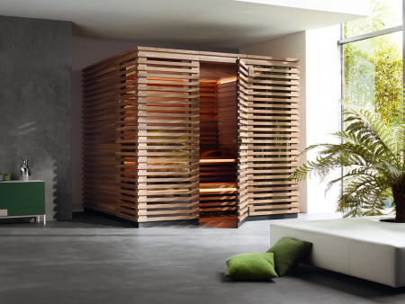 saunas der marke klafs sauna zuhause. Black Bedroom Furniture Sets. Home Design Ideas