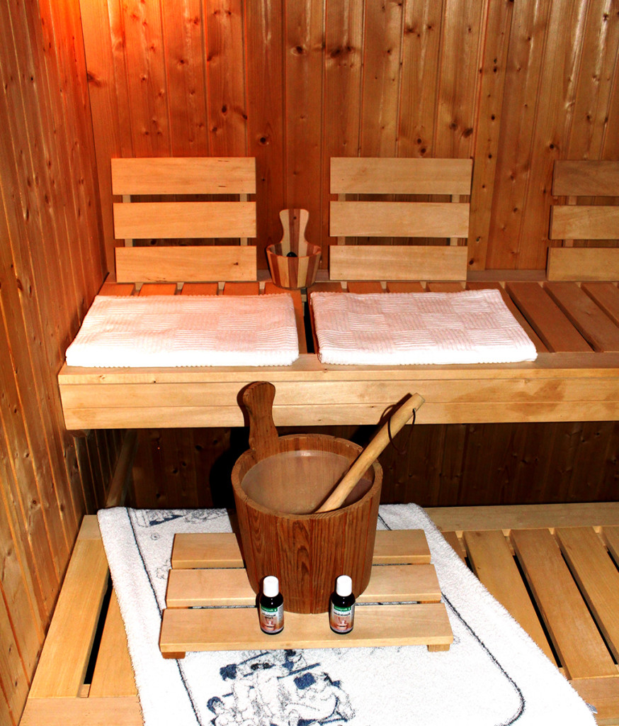 sauna wie gross